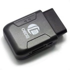 LANGMAO LM108B OBD II Mini Realtime GPS Vehicle Tracker - Black