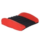 ZIQIAO Electrical Car Massage Lumbar Support Cushion - Black + Red