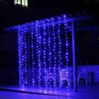 18W LED 8-Mode Window Curtain Light String Linkable Light for Living Room, Party, Wedding Decoration
