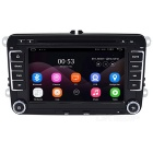 HD 1024 * 600 16GB ROM quad-core DVD player do carro para VW Polo, jetta, golf, Passat, Tiguan, RNS510 RDS