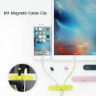 ROCK M1 Magnetic Cable Clip - Yellowish Green
