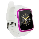 ZGPAX S83 3G Android 5.1 Wi-Fi Smart Watch w/ 8GB ROM - White + Pink