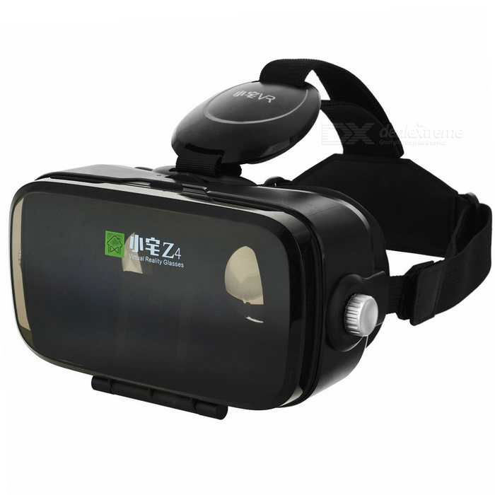 Xiaozai Z4-Mini Virtual Reality Polarized 3D Glasses - Black