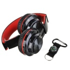 SOUND INTONE BT-06 Universal Bluetooth Headset w/ Mic - Black + Red