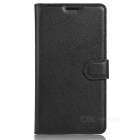 Lichee Pattern Protective Case for Samsung Galaxy J5 Prime - Black