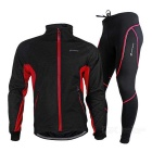 Three Layer Composite Fabric, Thickening, Windproof, Water Resistant, Warm Jersey + Pants Suit