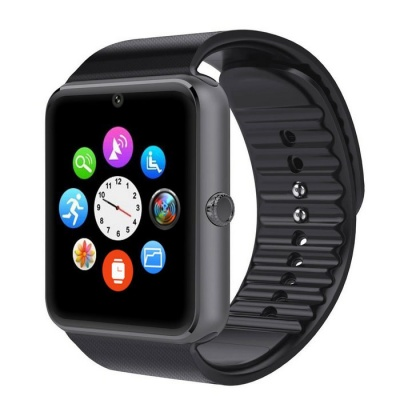 GT08 The Latest Fashion Smart Multi-function Watch - Black