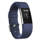 Fitbit Charge2 Heart Rate + Fitness Wristband, Blue, Small