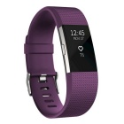Fitbit Charge2 Heart Rate+Fitness Wristband, Plum, Small