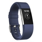 Fitbit Charge2 Heart Rate + Fitness Wristband, Blue, Large