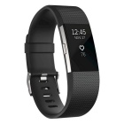 Fitbit Charge2 Heart Rate+Fitness Wristband, Black, Small