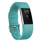 Fitbit Charge 2 Heart Rate + Fitness Wristband Teal Large