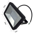 Unindo IP65 50W 100-LED 2835 Warm White Flood Light (AC 100 ~ 240V)
