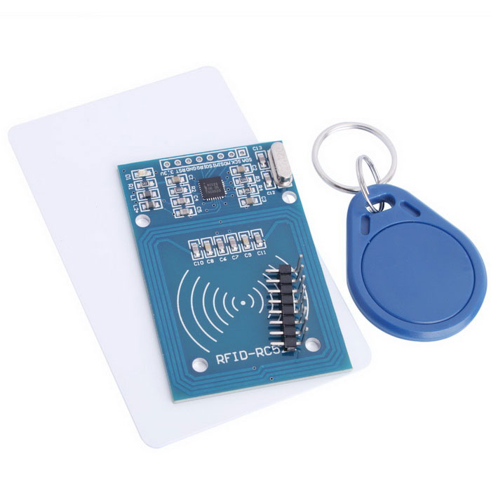 RFID-RC522 RF IC Card Sensor Module - Blue
