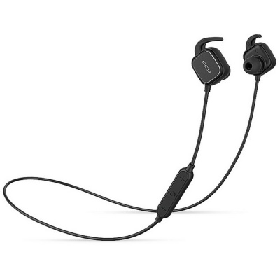 QCY QY12 Bluetooth 4.1 Wireless Sports Stereo Earphones w/ MIC - Black