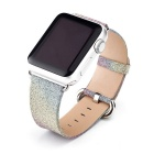 Rainbow Style Leather Watchband w/ Attachment for APPLE WATCH 38mm