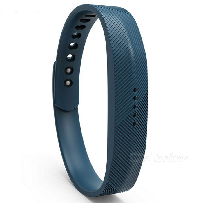 Replacement Smart Bracelet Wristband for Fitbit Flex 2 - Deep Blue