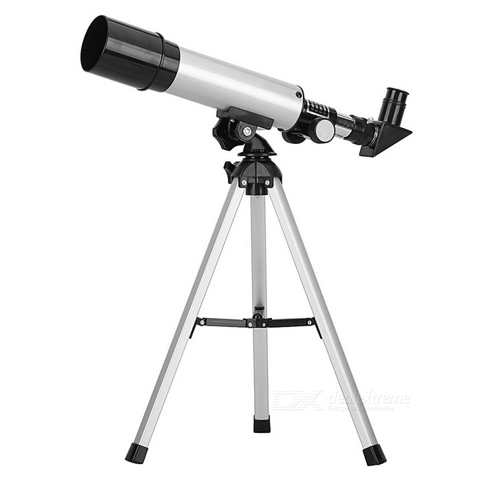 F36050 Outdoor 90X Space Astronomical Telescope - Black + Silver