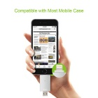 Omars mfi USB OTG unidad flash de 64 GB para IPHONE / IPAD / IPOD - plata