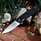 Outdoor Multi-function Folding High Hardness Camping Knife - Black