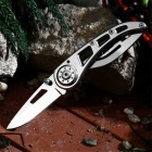 Outdoor Camping Multifunction Stainless Steel Knife - Silver