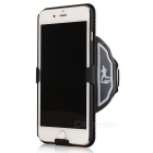 Outdoor Sports Wearing Wristband w/ Case for IPHONE 7 - Black