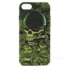 Cwxuan Glow-in-the-Dark Skeleton Head Cover Case for IPHONE 7