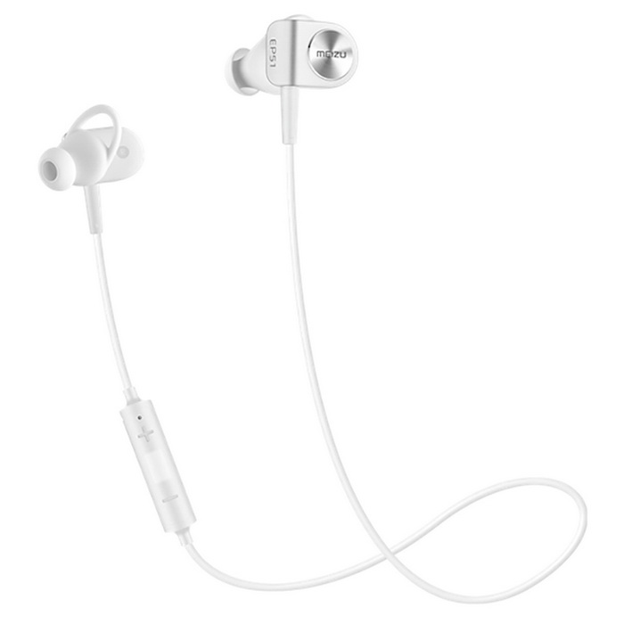 Meizu EP-51 Sports Bluetooth V4.0 Hi-Fi Music In-Ear Earphone - WhiteHeadphones<br>Form  ColorWhiteBrandOthers,MeizuMaterialTPUQuantity1 DX.PCM.Model.AttributeModel.UnitShade Of ColorWhiteConnectionBluetoothBluetooth VersionBluetooth V4.0Cable Length55 DX.PCM.Model.AttributeModel.UnitHeadphone StyleBilateral,EarbudWaterproof LevelOthers,LiquipelApplicable ProductsUniversalHeadphone FeaturesVolume Control,With Microphone,For Sports &amp; ExerciseSupports MusicYesRadio TunerNoSupport Memory CardNoSupport Apt-XYesStandby Time45h (connect bluetooth) / 400(disconnect bluetooth) DX.PCM.Model.AttributeModel.UnitTalk Time6 DX.PCM.Model.AttributeModel.UnitMusic Play Time6 DX.PCM.Model.AttributeModel.UnitPower AdapterOthers,Micro USBPacking List1 * Sport Earbuds6 * Earbud Tips1 * Chinese User Manual1 * Charging cable<br>