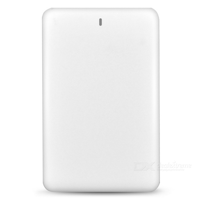 CUBE E20 Portable 2000mAh External Battery Power Bank - White