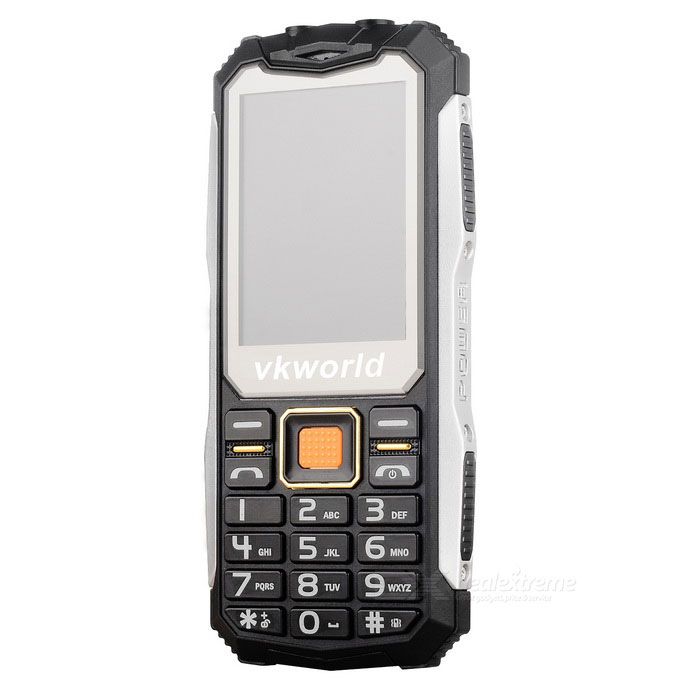 "vkworld v3s Long Standby 2.4"" GSM Phone w/ 0.3MP Camera - Black"