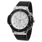 MN3002GBN-1 Silicone Band Alloy Case Luxury Sport Watch