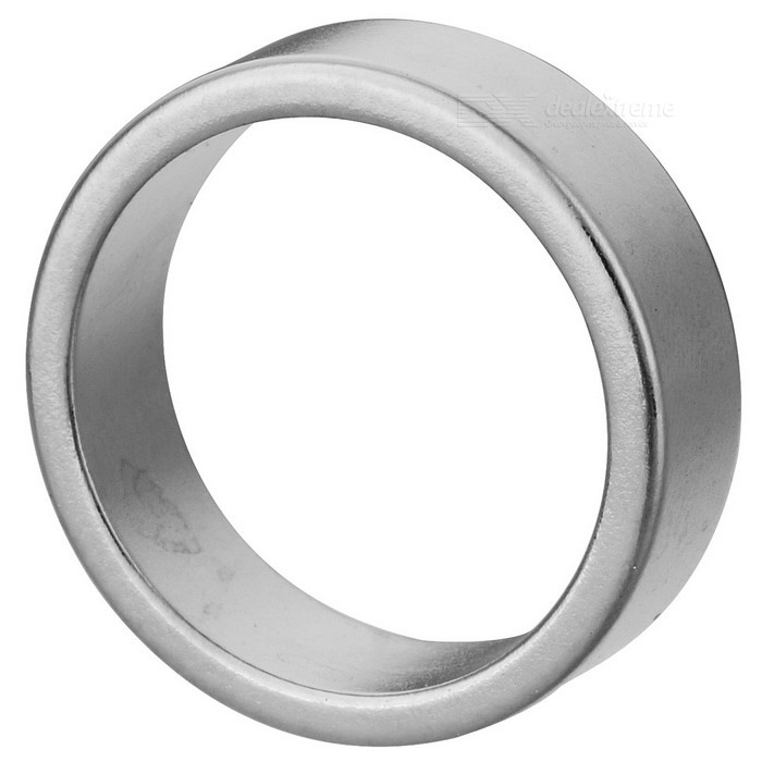 JEDX 22mm Round Shaped Magnetic NdFeB Magnet - Silver