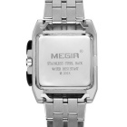 MEGIR 2018 Quartz Analog Wrist Watch for Men - Black Dial