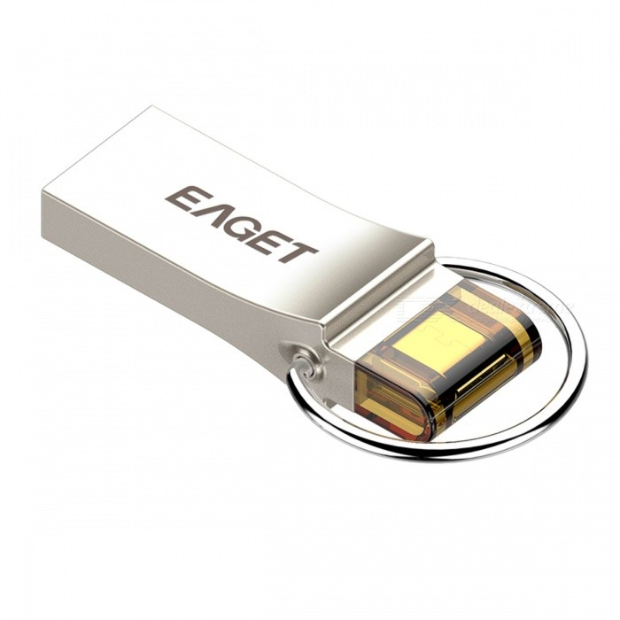 EAGET V90 32GB USB3.0 OTG flash-enhet disk för Android - silver