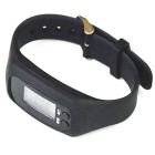 Unisex Sports Silicone Band LED Digital Wrist Watch - Black (1 * AG10)