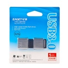 EAGET F90 32GB USB3.0 unidade flash / disco para android - prata + preto