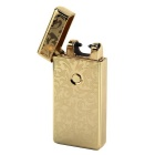 MAIKOU Single Arc USB Charging Pulse Lighter - Gold