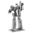DIY 3D Metal Puzzle Assembly Megatron Robot Model Toy - Silver