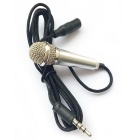 Jtron Mini Unidirectional Microphone for Voice Recording - Silver
