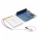 UPS Expansion Board + 2500mAh Li-ion Battery Set for Raspberry Pi - Dark Blue