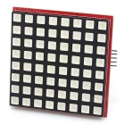74HC595 8 * 8 Dot Matrix RGB LED Control Module - Red