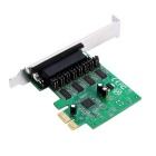 IOCREST IO-PCE99100-PR4S AX99100 Chipset 4 Serial Port PCI-E Card