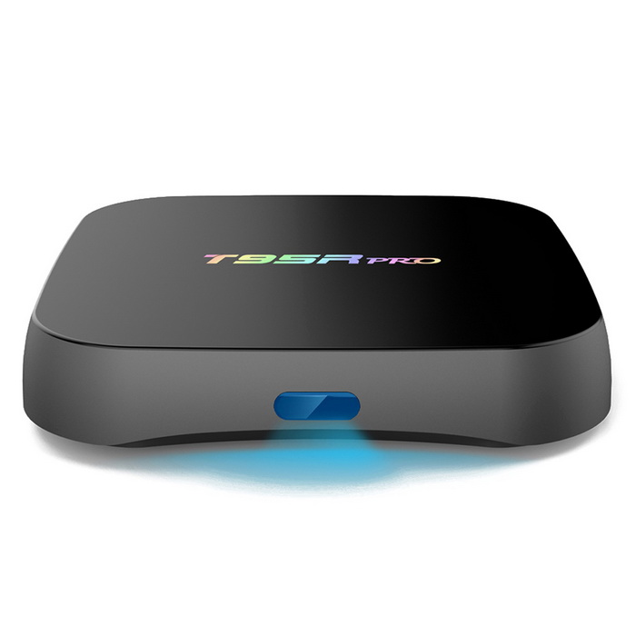 T95RPro Octa-Core TV BOX w/ 2GB ROM, 16GB RAM - Black (US Plugs)Smart TV Players<br>Form  ColorBlackBuilt-in Memory / RAM2GBStorage16GBPower AdapterUS PlugModelT95RProQuantity1 DX.PCM.Model.AttributeModel.UnitMaterialPlasticShade Of ColorBlackOperating SystemAndroid 6.0ChipsetAmlogic S912CPUOthers,Cortex-A53Processor Frequencyup to 2GHzGPUARM Mali-T820MP3 GPU up to 750MHz (DVFS)Menu LanguageEnglish,French,German,Italian,Spanish,Portuguese,Russian,Vietnamese,Polish,Greek,Danish,Norwegian,Dutch,Arabic,Turkish,Japanese,Bahasa Indonesia,Korean,Thai,Maltese,Hungarian,Latin,Persian,Malay,Slovak,Czech,Greek,Romanian,Swedish,Finnish,Chinese Simplified,Chinese Traditional,Bulgarian,Norwegian,HebrewRAM/Memory TypeDDR3 SDRAMMax Extended Capacity32GBSupports Card TypeMicroSD (TF)External HDD2TBWi-Fi2.4G / 5G Wi-Fi <br>Support IEEE 802.11 b/g/n/acBluetooth VersionBluetooth V4.03G FunctionNoWireless Keyboard/Mouse2.4GHz / 5GHzAudio FormatsMP3,WMA,APE,FLAC,OGG,AC3,DTS,AACVideo FormatsRM,RMVB,AVI,DIVX,MKV,MOV,HDMOV,MP4,M4V,PMP,AVC,FLV,VOB,MPG,DAT,MPEG,H.264,MPEG1,MPEG2,MPEG4,WMV,TP,CD,VCD,DVD,BD,H.265Audio CodecsDTS,AC3,LPCM,FLAC,HE-AACVideo CodecsMPEG-1,MPEG-2,MPEG-4,H.264,VC-1,H.265Picture FormatsJPEG,BMP,PNG,GIF,TIFF,jps(3D),mpo(3D)Subtitle FormatsMicroDVD [.sub],SubRip [.srt],Sub Station Alpha [.ssa],Sami [.smi]idx+subPGSOutput Resolution4KHDMIHDMI output 2.0Audio OutputHDMI / AVVideo OutputHDMI / AVUSBUSB 2.0Other Interface1 * HDMI output 2.0 4K*2K @ 60Hz<br>2 * High speed USB 2.0,support U DISK and USB HDD<br>1 * TF CARD Support 1~32GB<br>1 * 3.5 Phone out CVBS &amp; L/R output <br>1 * RJ45 LAN Ethernet 10M/100M/1000MPower Supply100-240VAPP Built-inKodiCompatible ApplicationFacebook,Youtube,Skype,Netflix,XBMC,HuluPacking List1 * TV Box1 * IR remote controller1 * HDMI cable (100cm)1 * US plug adapter (100cm)1 * English user manual<br>