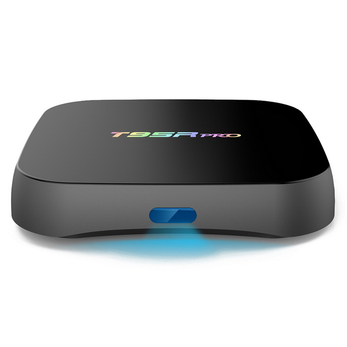 T95RPro Octa-Core TV BOX w/ 2GB ROM, 16GB RAM - Black (EU Plug)Smart TV Players<br>Form ColorBlackBuilt-in Memory / RAM2GBStorage16GBPower AdapterEU PlugModelT95RProQuantity1 DX.PCM.Model.AttributeModel.UnitMaterialPlasticShade Of ColorBlackOperating SystemAndroid 6.0ChipsetAmlogic S912CPUOthers,Cortex-A53Processor Frequencyup to 2GHzGPUARM Mali-T820MP3 GPU up to 750MHz (DVFS)Menu LanguageEnglish,French,German,Italian,Spanish,Portuguese,Russian,Vietnamese,Polish,Greek,Danish,Norwegian,Dutch,Arabic,Turkish,Japanese,Bahasa Indonesia,Korean,Thai,Maltese,Hungarian,Latin,Persian,Malay,Slovak,Czech,Greek,Romanian,Swedish,Finnish,Chinese Simplified,Chinese Traditional,Bulgarian,Norwegian,HebrewRAM/Memory TypeDDR3 SDRAMMax Extended Capacity32GBSupports Card TypeMicroSD (TF)External HDD2TBWi-Fi2.4G/5G Wi-Fi <br>Support IEEE 802.11 b/g/n/acBluetooth VersionBluetooth V4.03G FunctionNoWireless Keyboard/Mouse2.4GHz / 5GHzAudio FormatsMP3,WMA,APE,FLAC,OGG,AC3,DTS,AACVideo FormatsRM,RMVB,AVI,DIVX,MKV,MOV,HDMOV,MP4,M4V,PMP,AVC,FLV,VOB,MPG,DAT,MPEG,H.264,MPEG1,MPEG2,MPEG4,WMV,TP,CD,VCD,DVD,BD,H.265Audio CodecsDTS,AC3,LPCM,FLAC,HE-AACVideo CodecsMPEG-1,MPEG-2,MPEG-4,H.264,VC-1,H.265Picture FormatsJPEG,BMP,PNG,GIF,TIFF,jps(3D),mpo(3D)Subtitle FormatsMicroDVD [.sub],SubRip [.srt],Sub Station Alpha [.ssa],Sami [.smi]idx+subPGSOutput Resolution4KHDMIHDMI output 2.0Audio OutputHDMI/AVVideo OutputHDMI/AVUSBUSB 2.0Other Interface1 * HDMI output 2.0 4K * 2K @ 60Hz<br>2 * High speed USB 2.0,support U DISK and USB HDD<br>1 * TF CARD Support 1~32GB<br>1 * 3.5 Phone out CVBS &amp; L/R output <br>1 * RJ45 LAN Ethernet 10M/100M/1000MPower Supply100-240VAPP Built-inKodiCompatible ApplicationFacebook,Youtube,Skype,Netflix,XBMC,HuluPacking List1 * TV Box1 * IR remote controller1 * HDMI cable (100cm)1 * EU plug adapter (100cm)1 * English user manual<br>