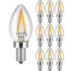 KWB 068 Mini Dimmable 2W 200LM E14 Warm White Light Bulb (10 PCS)