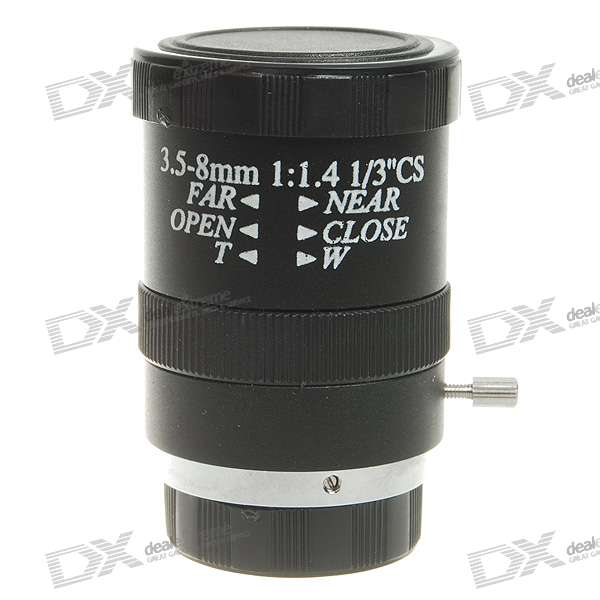 Replacement Manual Zoom Lens for CCTV Camera (3.5~8.0mm) 12x zoom camera lens telescope for samsung galaxy s5 silver