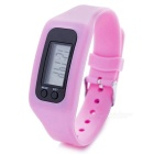 Unisex Sports Silicone Band LED Digital Wrist Watch - Pink (1 * AG10)