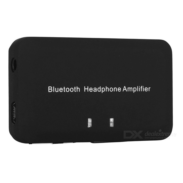 EC500H Bluetooth Headphone Amplifier Converter - Black