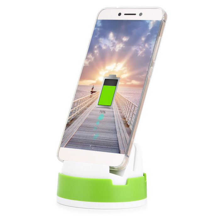 Type-C Phone Charging Dock for LeShi / ChuiZI / XiaoMi - Green+White
