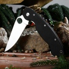 PA60 Outdoor Multi-function Folding Camping Knife - Black